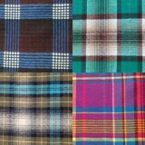 Cotton Check Fabric, Measures 44/45 Inches