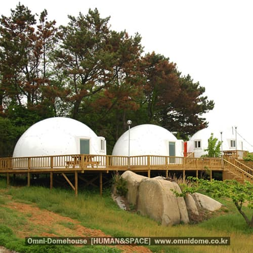 Steel Dome Homes: Prefabricated Dome House