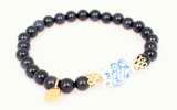 gemstone bangle-blessed fish-