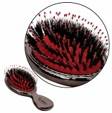 EL AMIGO Pet Brush Red Pearl Mini