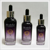 Spoid Glass Bottle - Square, Purple Color Type