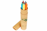 zebra paper pencil 5 pcs tube set