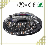 RGB LED Strip with Black Background