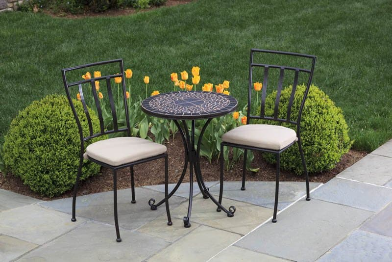 garden metal furniture set patio metal chairs patio metal tables