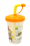 Straw cup for babies - Cloud Bread(Character)