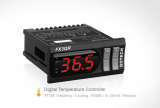 Digital Temp Controller PT100 -FX3QR-