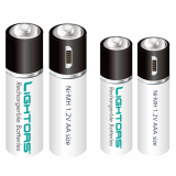 Lightors rechargeable battery