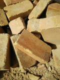 France bricks_ second hand refractory bricks_ yellow color
