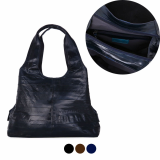 TKSJC293_Eel skin shoulder tote bag