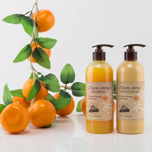 J_ farm citrus hair conditioner