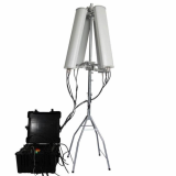 600W 4_8bands High Power Drone Jammer Jammer up to 2500m