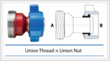 Union Thread X Union Nut