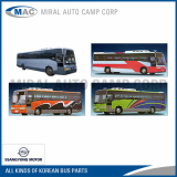 Spare Parts for Korean Ssangyong Buses - Miral Auto Camp Corp
