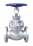 Cast Steel double flanged_threaded globe valve