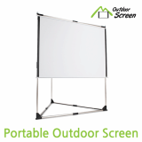 Portable Outdoor Screen Stand  Beam Projector