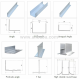 Aluminium Profile Accessories for clean room