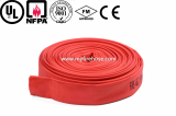 canvas fire hydrant hose material is PVC_used fire hose