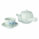 Kwangjuyo _Buddha_s Hand_melon Pattern Tea Set for Two_