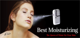 Ultrasonic moisturizing spray