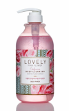 Lovely Pink flower Perfume Body Cleanser
