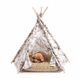 Huts and Bay_Teepee tent_Marble Khaki