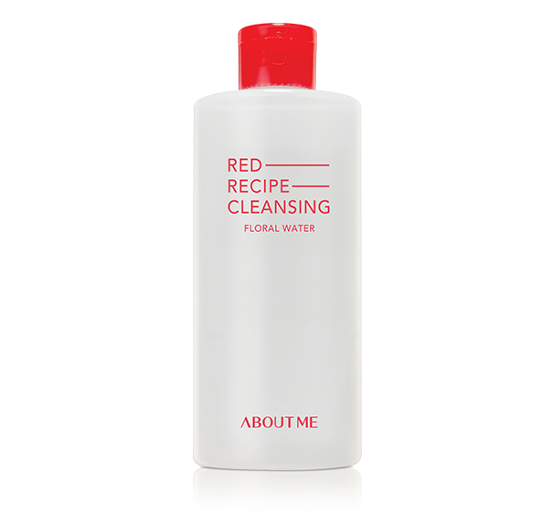 ABOUT ME _Red Recipe Cleansing Floral Water