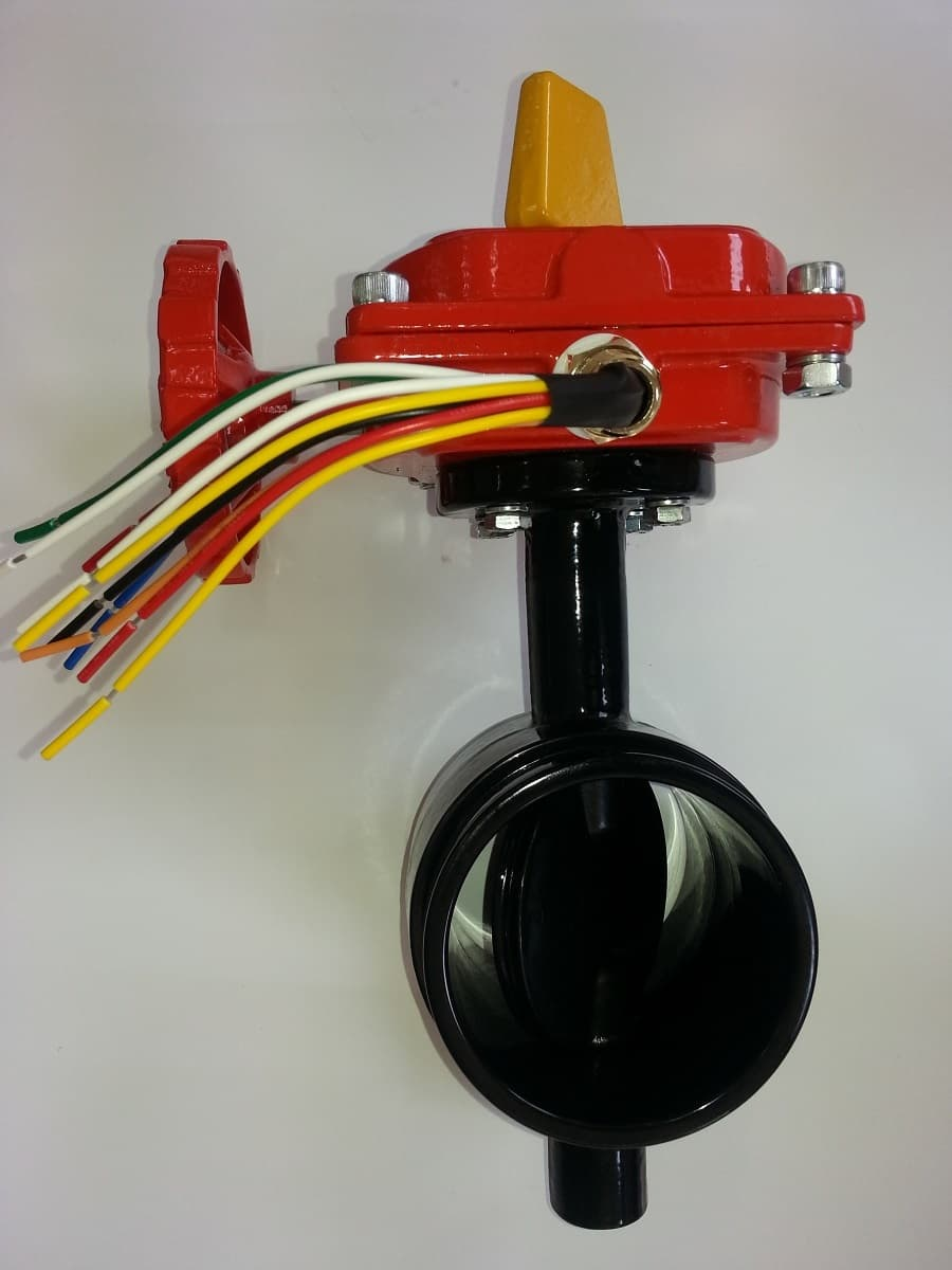 Grooved end butterfly valve from vastco ltd b