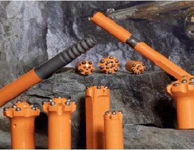 Best selling China rock drilling tools top hammer rock tools