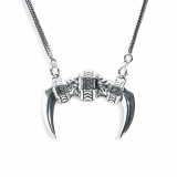 _MEZMIC_ 16SNL0570A_ Rolling Teeth Necklace_ 925Silver