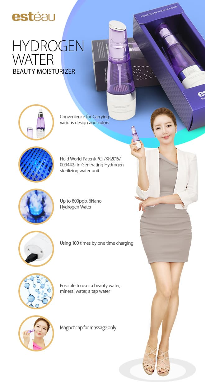 Hydrogen water Sterilizing  Beauty Moisturizer R