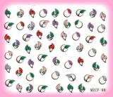 Glitter Powder Nail Art Sticker (1000 Style)