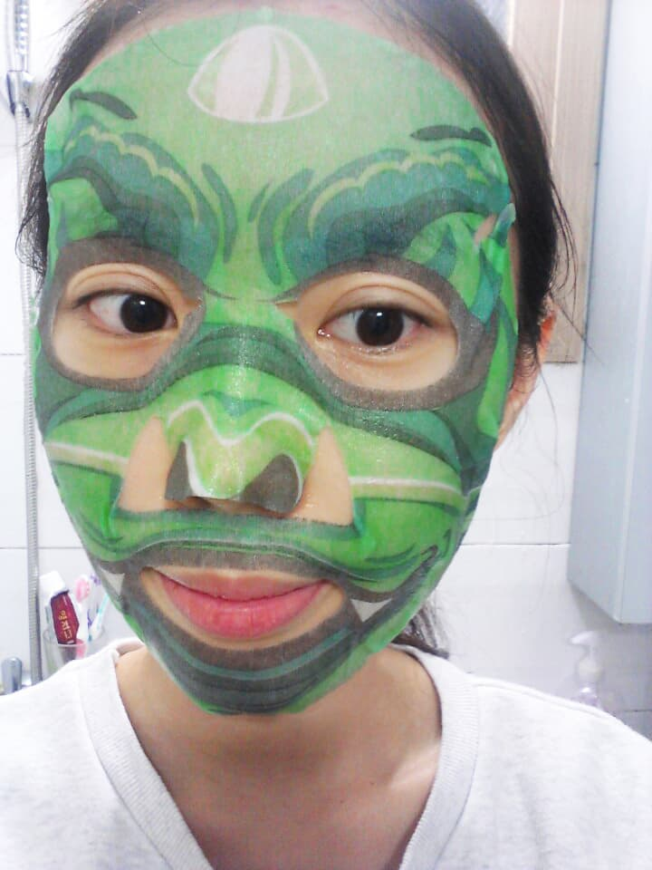 112_SNP Animal Dragon Soothing Mask