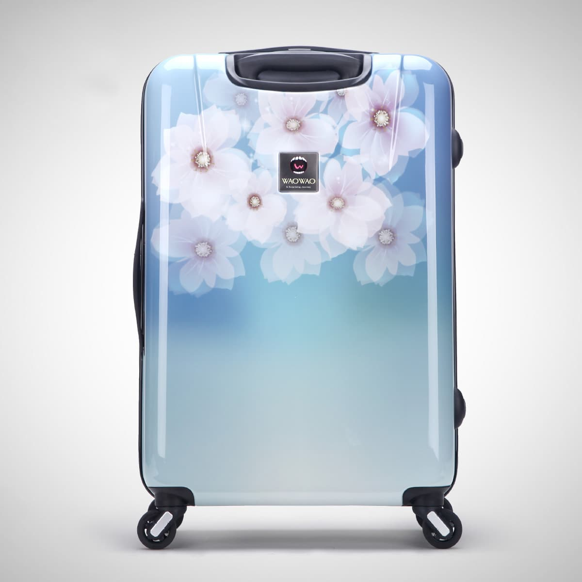 ABS PC hardside trolley luggage set