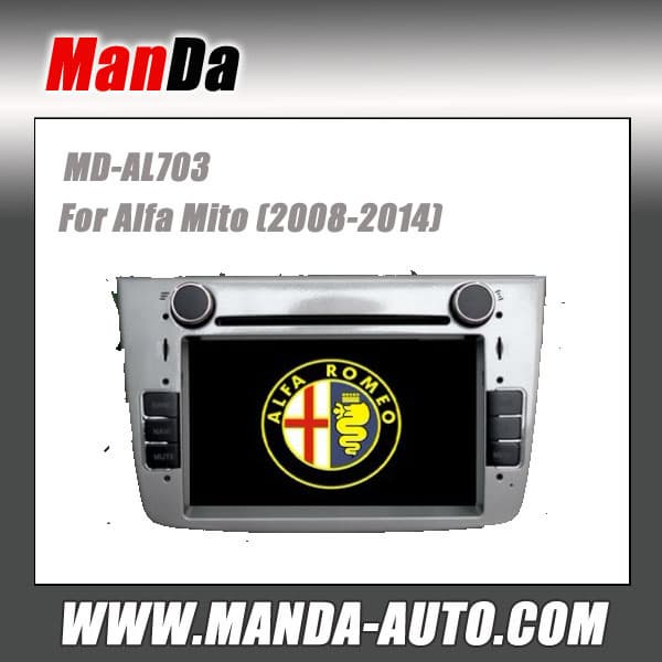 Car Stereo For Alfa Mito (2008-2014) Auto Dvd From