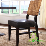 China Manucfacturer Natural Rattan Wicker Dining Room Chair