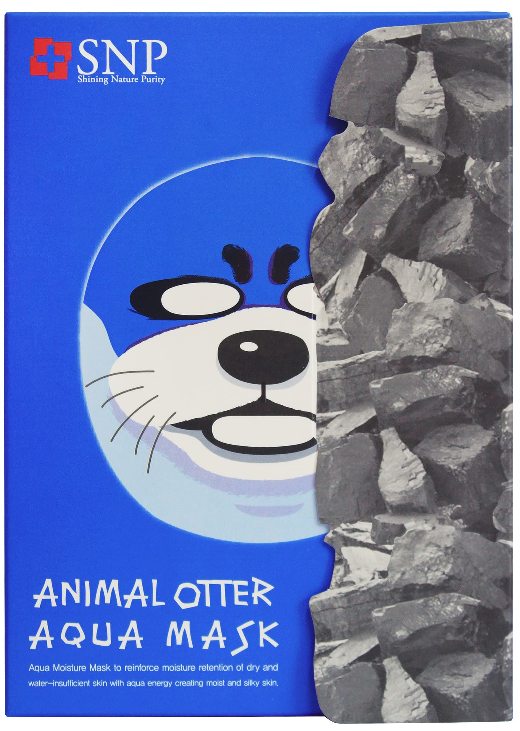 113_SNP Animal Otter Face Mask