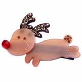 Christmas / X-mas Rudolf S hair clamp