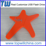 Company Unique PVC 16GB Usb Flash Drive Free Design