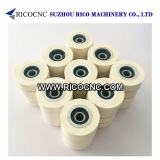 Rubber Pressure Roller Wheels with Bearing for Edgebanders