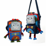Kids Cross, robot bag
