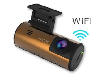 Wireless Car DVR with GPS and Powerful Night Vision Function