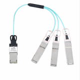 120G CXP to 3x 40G QSFP Breakout Active Optical Cable