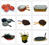 Cast iron kitchenware cookware and bakeware