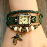 Bomian angel layered watch & bracelet