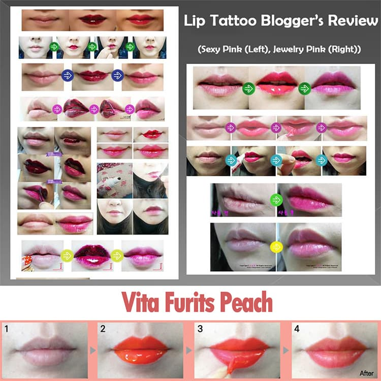 Skinfactory Touch Fit Lip Tattoo Pack