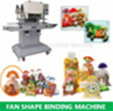 Fan shape packing machine