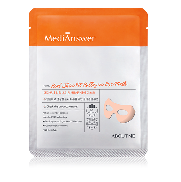 ABOUT ME _MediAnswer Real Skin Fit Collagen Eye Mask