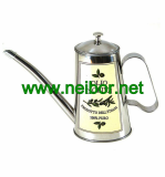 custom order stainless steel olive oil pourer