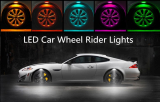 LED Car Wheel Laser Rider Lights X4pcs