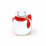 Christmas / X-mas snow man ponytail holder